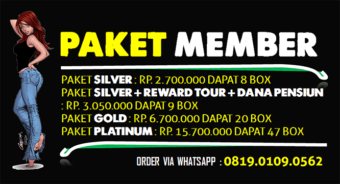 PAKET JOIN MLM MAXIMAX 2020